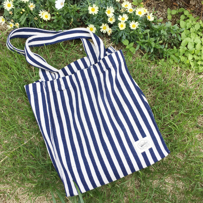 Marine Stripe Eco Bag_BB08