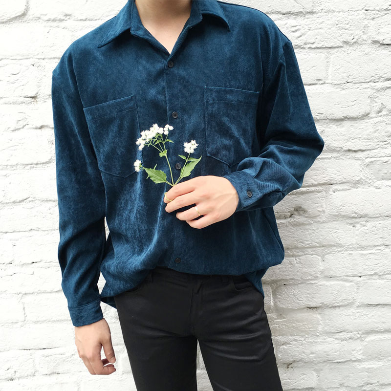 List Corduroy Shirts_T327 ( 4color )