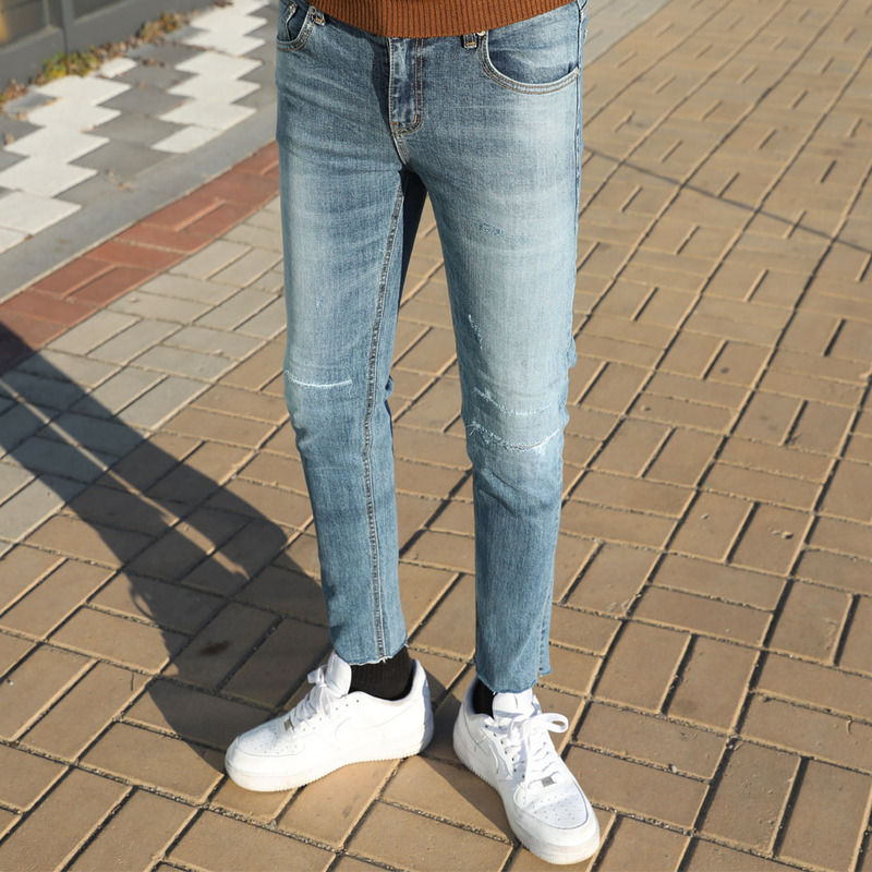 ST 1801 Washing  Cutting Denim Jeans_B476