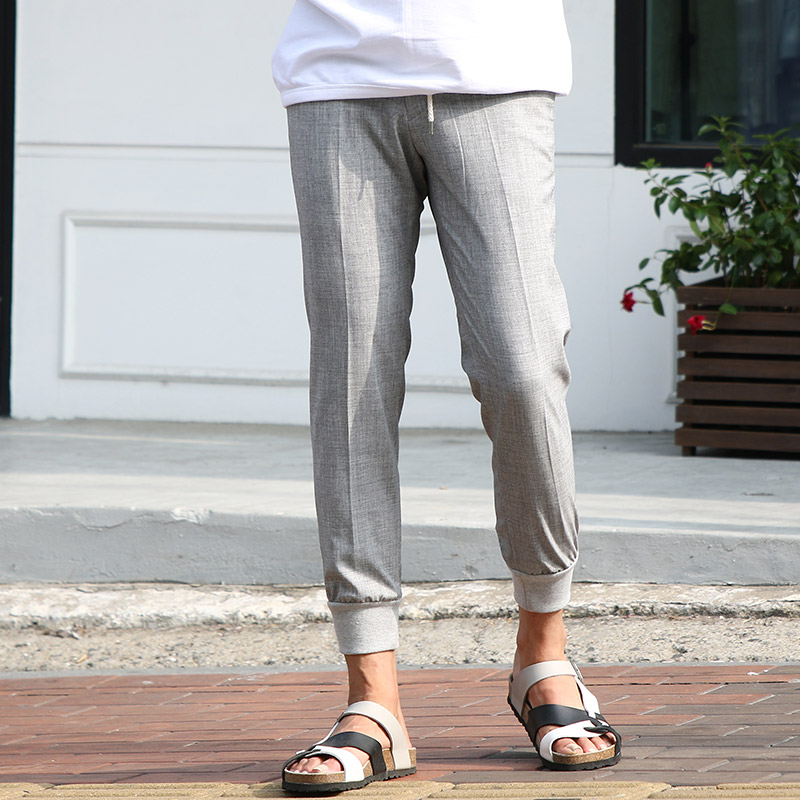 Urban de Jogger Slacks_B107 ( 2 colors )
