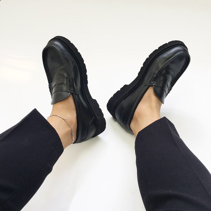 Modern Classy Penny Loafer_S044 ( 2 colors )
