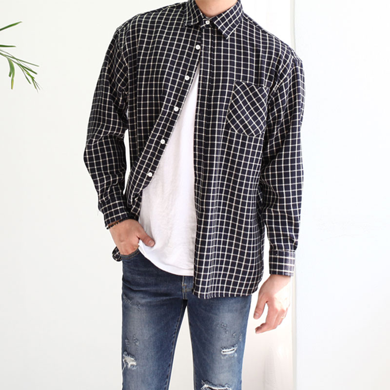 RD Detail Check Shirts_T318 ( 3color )