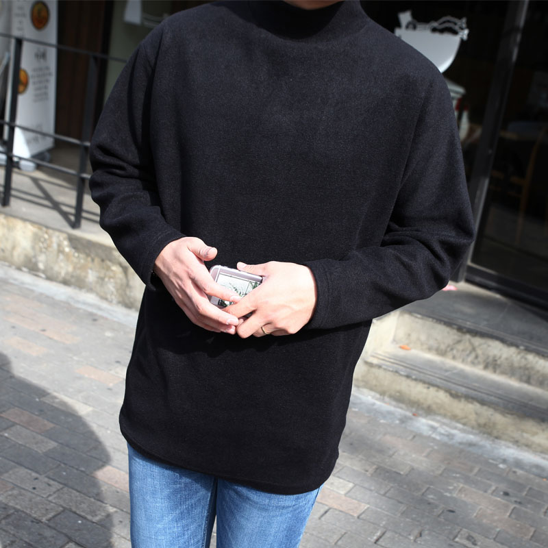 GRV Fleece Half-Neck Knit_T335 ( 3 colors )