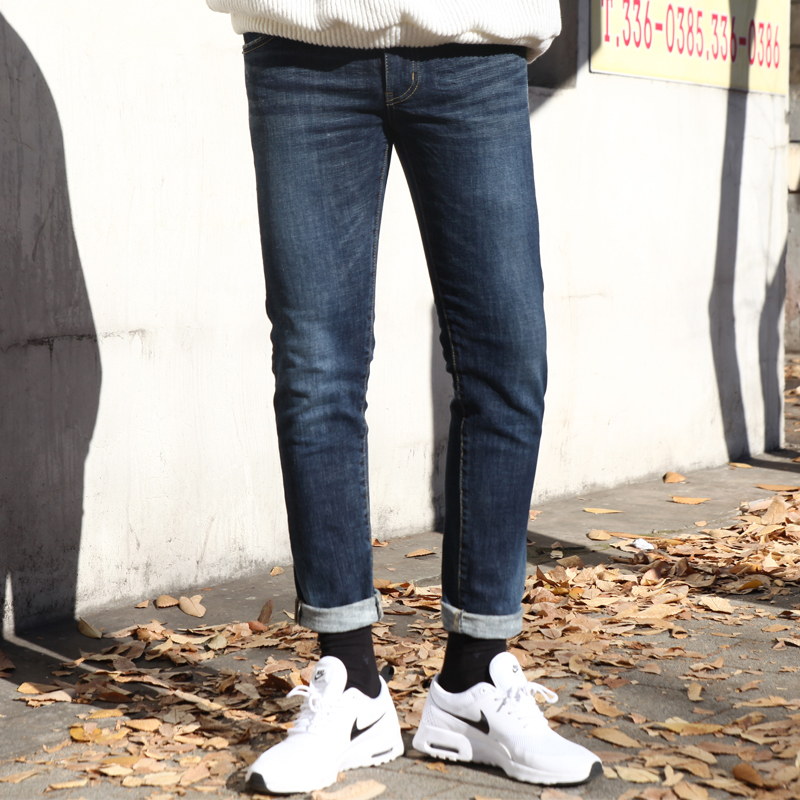 1496 ST Washed Denim Pants_B180
