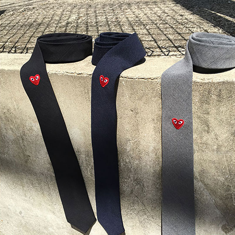 GARC*NS HEART DETAIL TIE_A022 ( 3 colors )