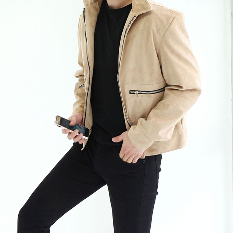 Urban WM Suede Jacket_O266 ( 2 Colors )