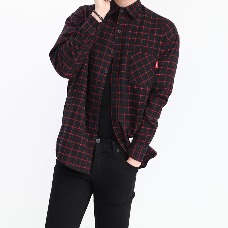 Simon LM Check Pattern Shirt_T427 ( 5 Colors )