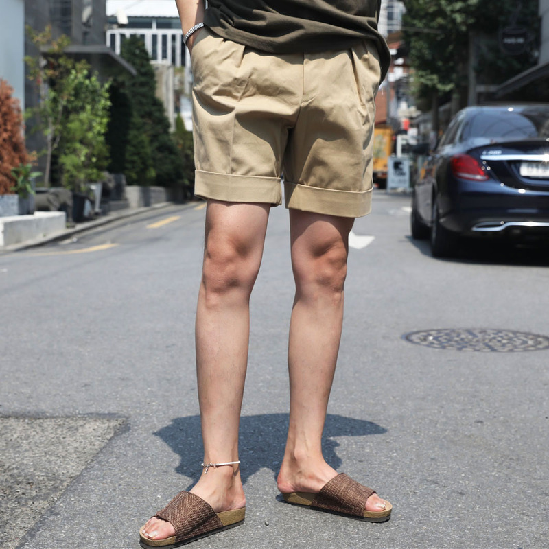 FL Roll Up Short Pants_B366 ( 3 Colors )