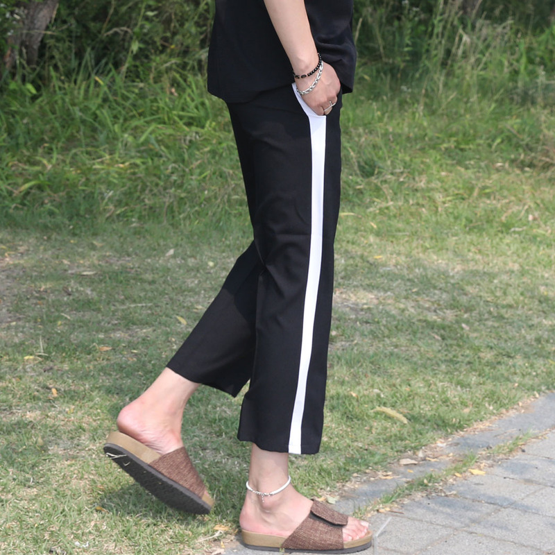 PB Wide Line Slacks_B369 ( 2 Colors )