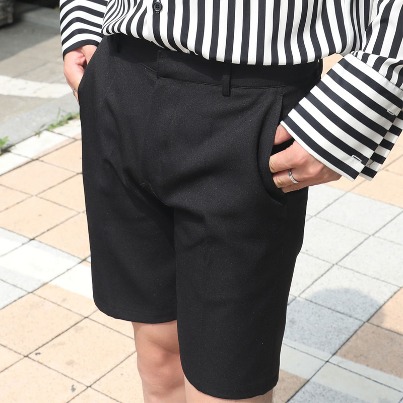 2701 ST Short Slacks Pants_B382 ( 2 Colors )