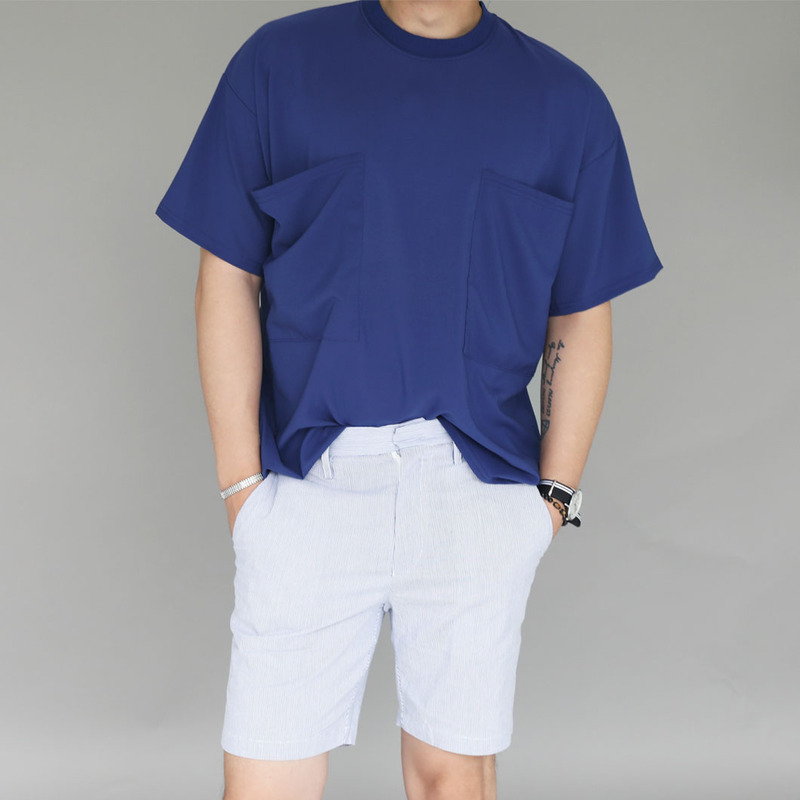 GAR Loose Two-Pocket T-Shirts_T732 ( 3 Colors )