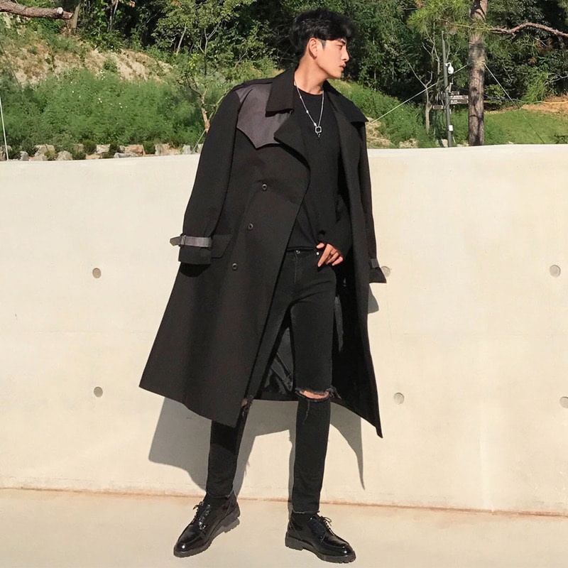 LOOKPINE Trench Coat_O395