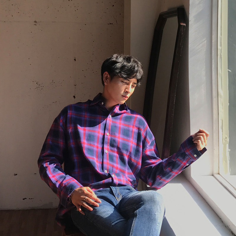 DBE Dean Check Shirts_T888 ( 2 Colors )