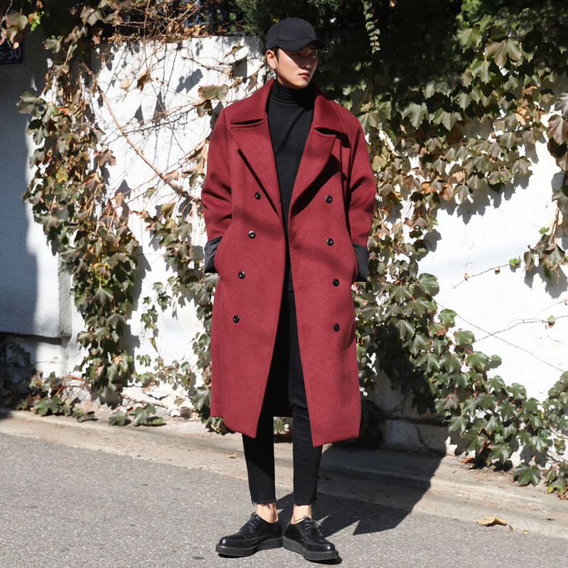 LOOKPINE Double Coat_O452