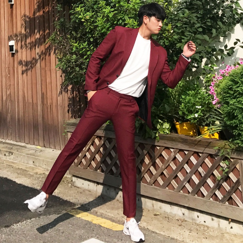 MX Venezia Burgundy Suit_SU171