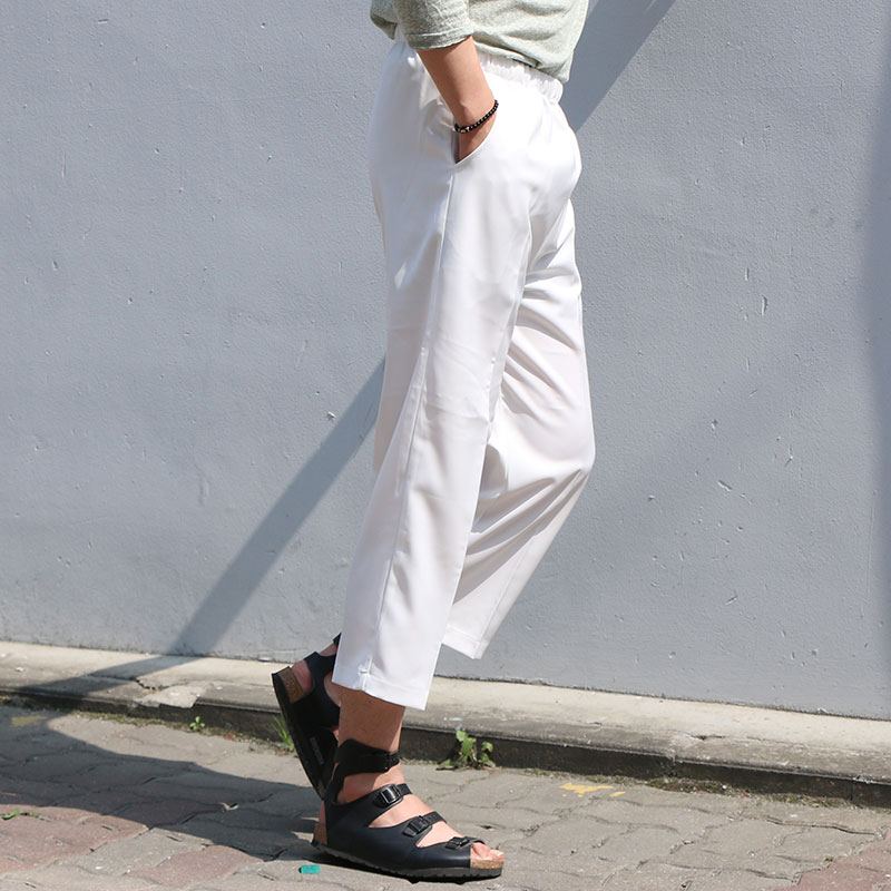 S/S WIDE CAPRI PANTS_B079 ( 3 colors )