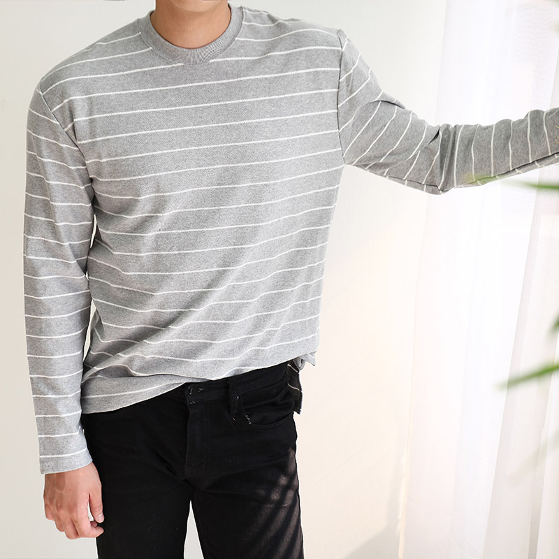 East Pin Stripe Long Sleeve_T251( 5 colors )