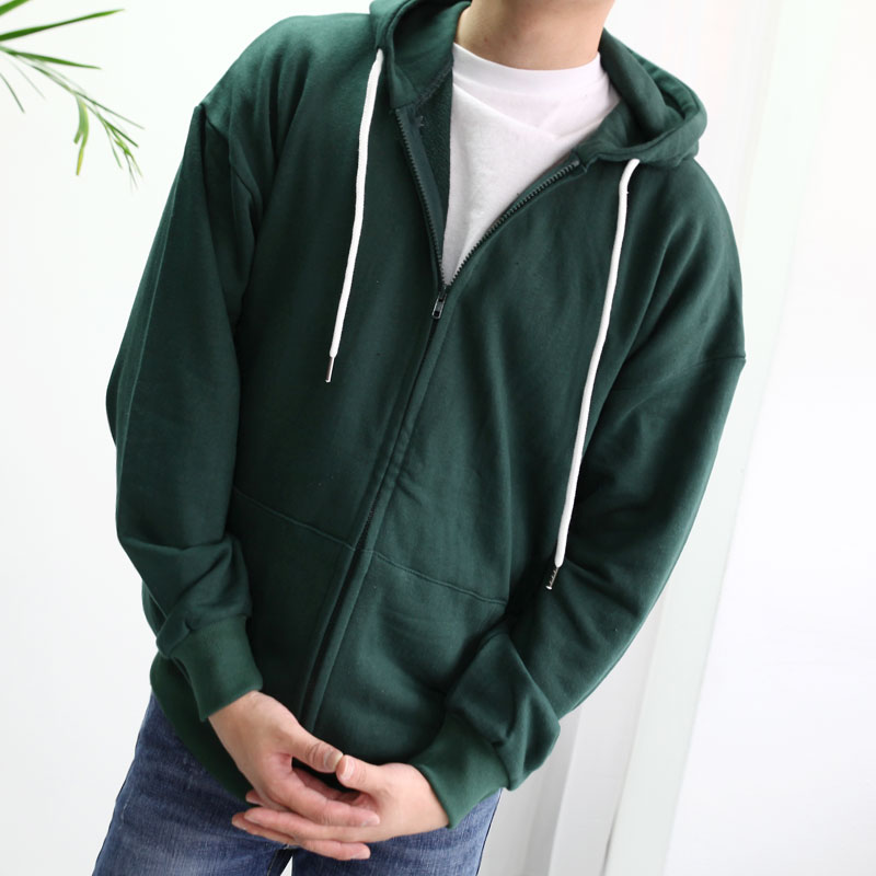 Basic A Box Zip-Up Hoodie_T298 ( 8 color )