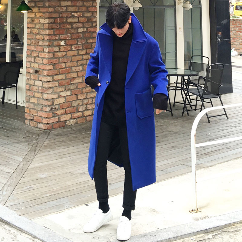 List Out Pocket Coat_O133 ( BLUE, CAMEL )