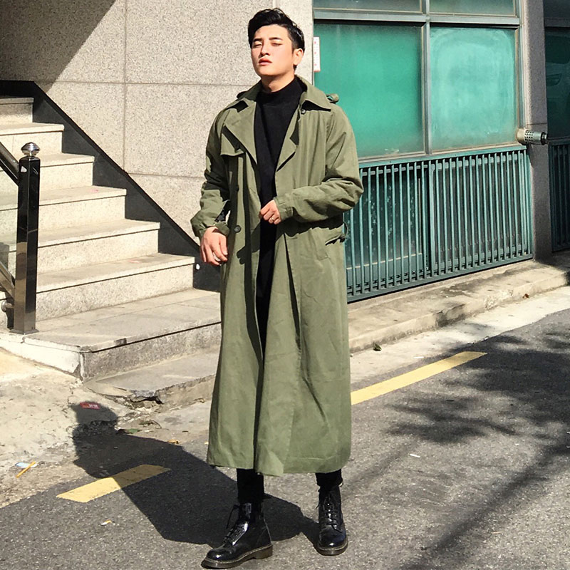 GRV Long Wide Military Coat_O143 ( 2 colors )