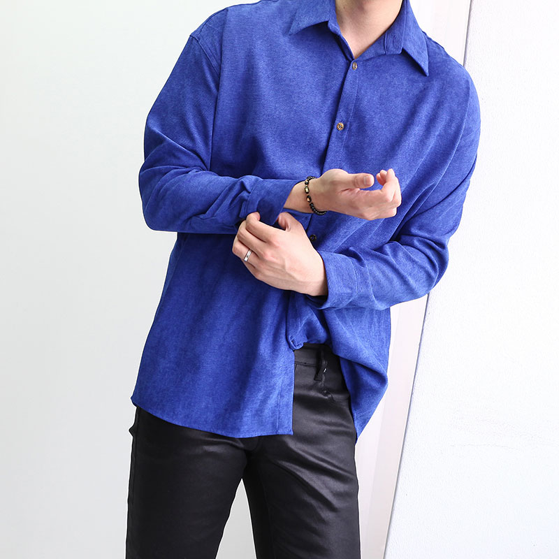 FL Kun Suede Wased Shirt_T344