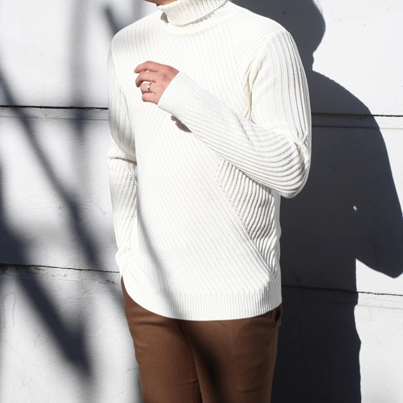 Time AM Turtle Neck Knit_T359 ( 3 colors )