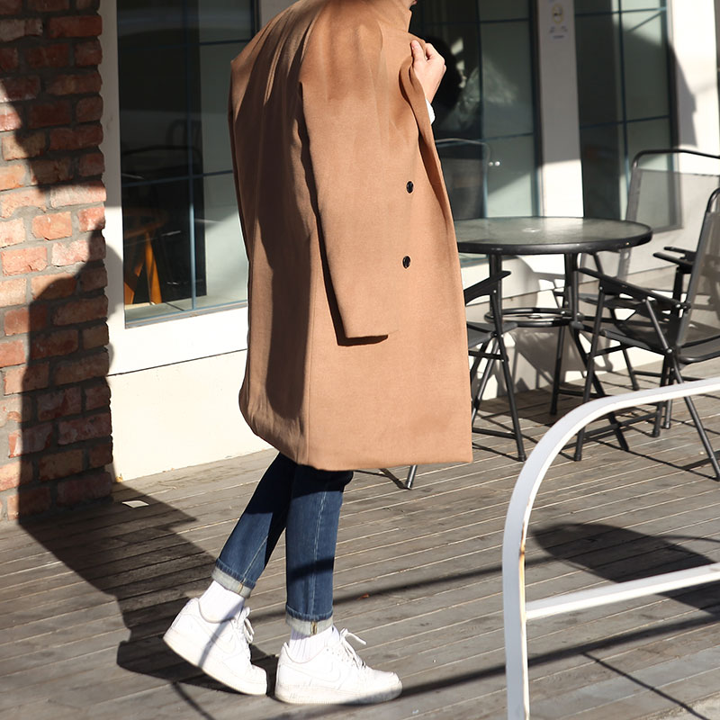 Urban LUM Over Fit Double Coat_O263 ( 5 colors )
