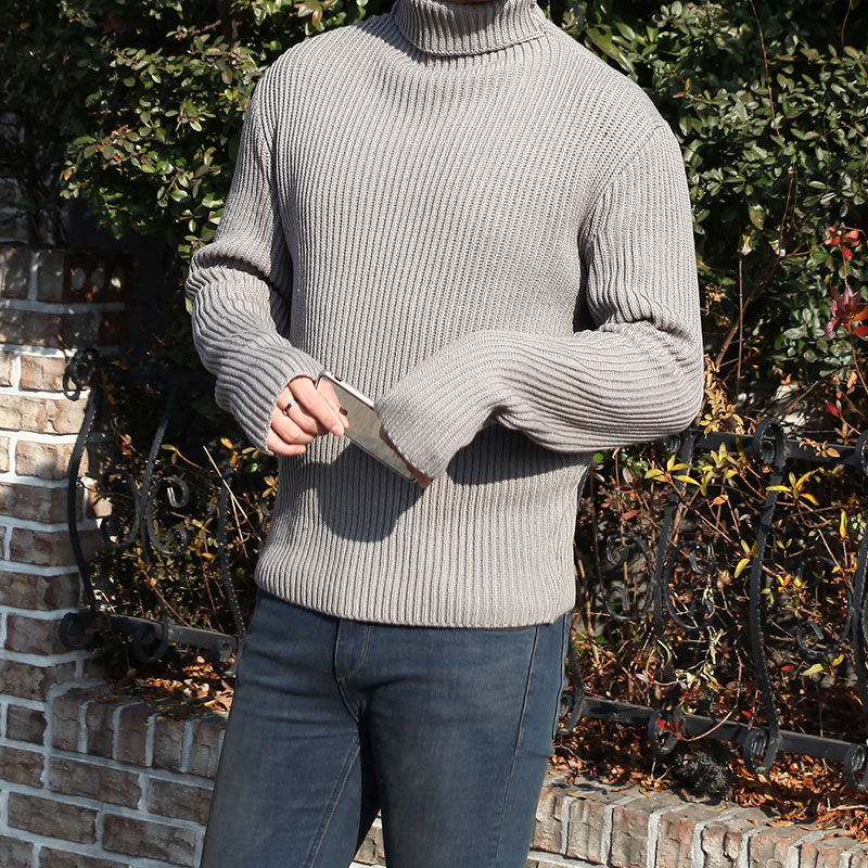 Embo WM Turtle Neck Knit_T412 ( 3 Colors)