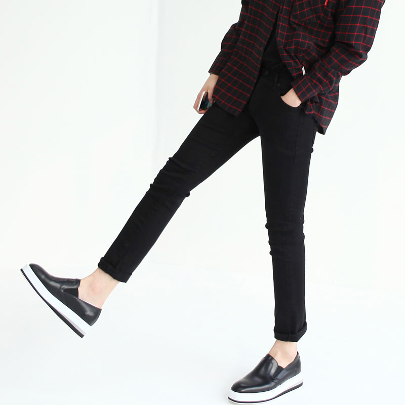 Freak OF Chic Black Slim Jean_B202